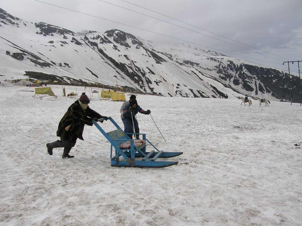 Ice Sledging