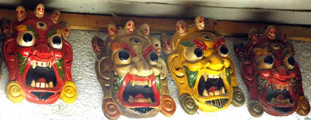 Wooden Buddhist Maks