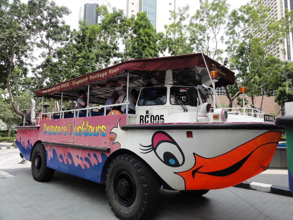 Singapore Ducktours, Singapore with kids