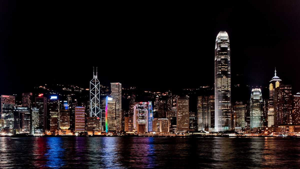 Victoria Harbour Skyline, Hong Kong