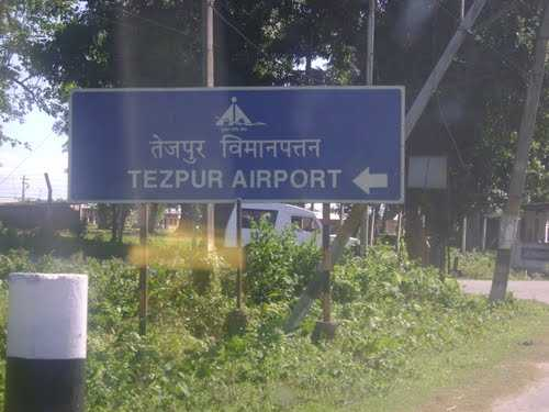 airports in assam, tezpur airport