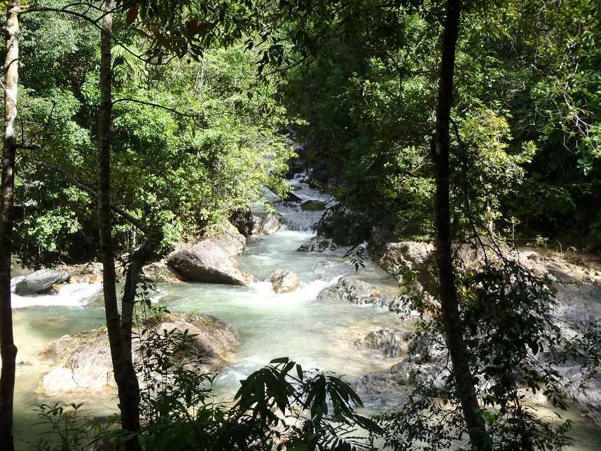 Khlong Song Phraek River, White Water Rafting in Phang Nga, Thailand