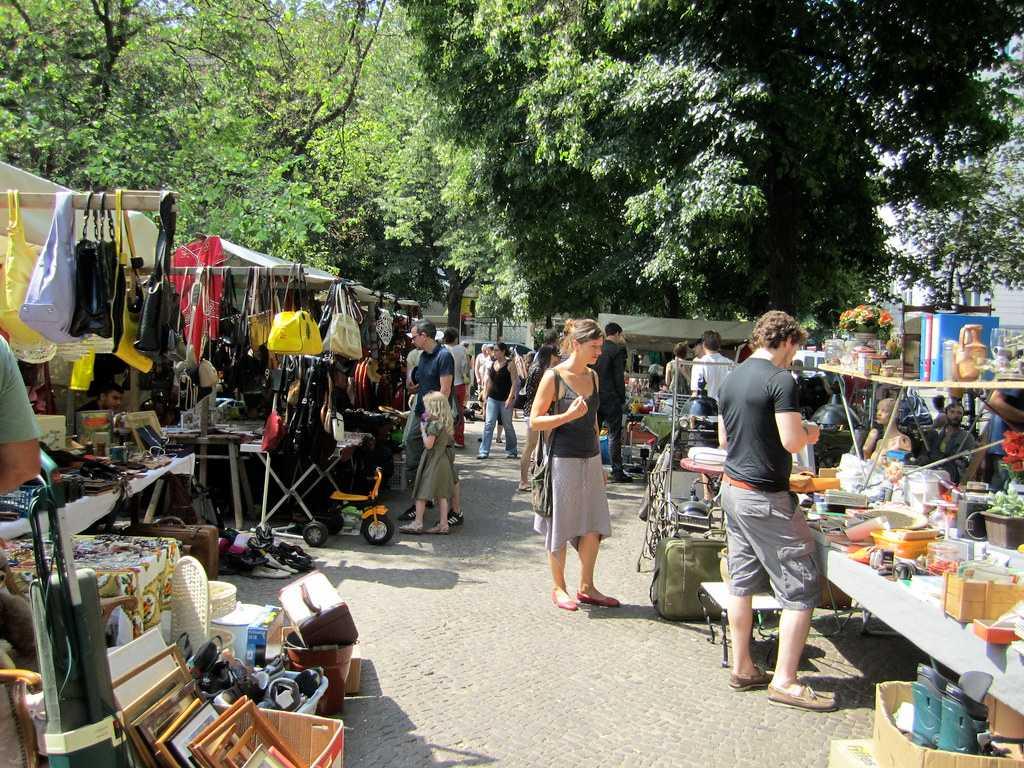 flea market, vintage goods, naschmarkt