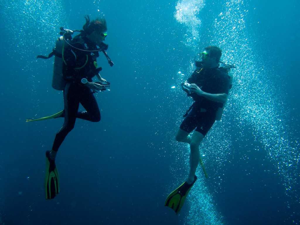 Scuba Diving in Raya Islands, Phuket