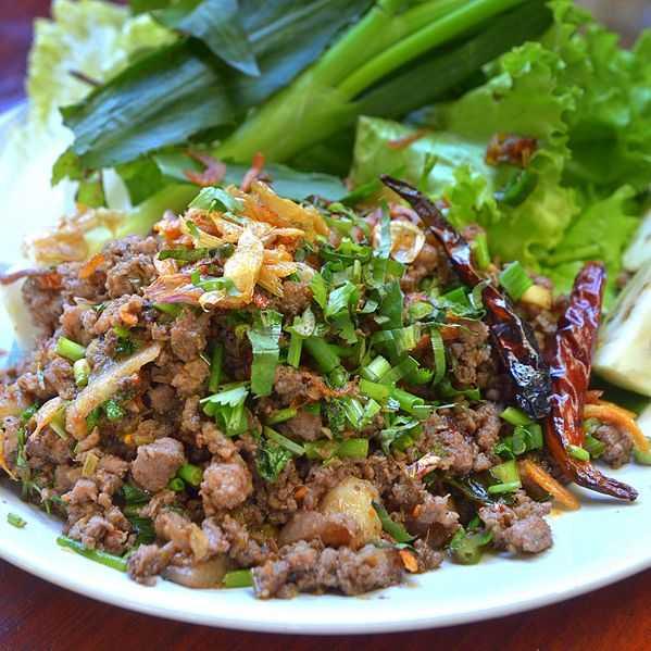 Thai Larb, Food in North Thailand, Northern Thailand Cuisine