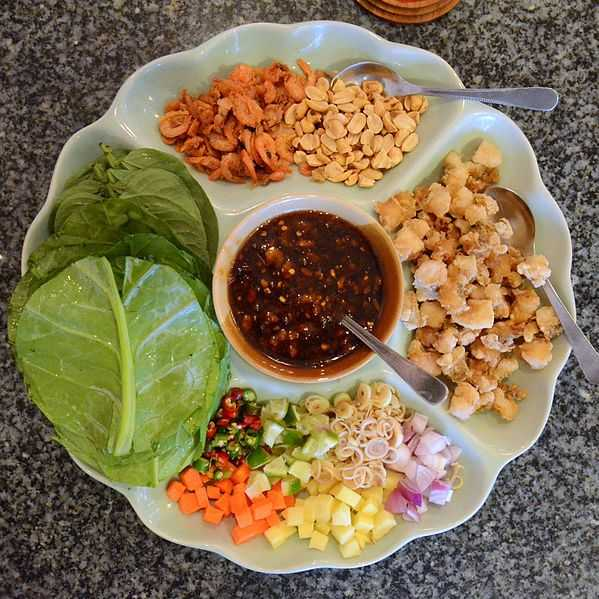 Miang Kham, Food in North Thailand, Northern Thailand Cuisine