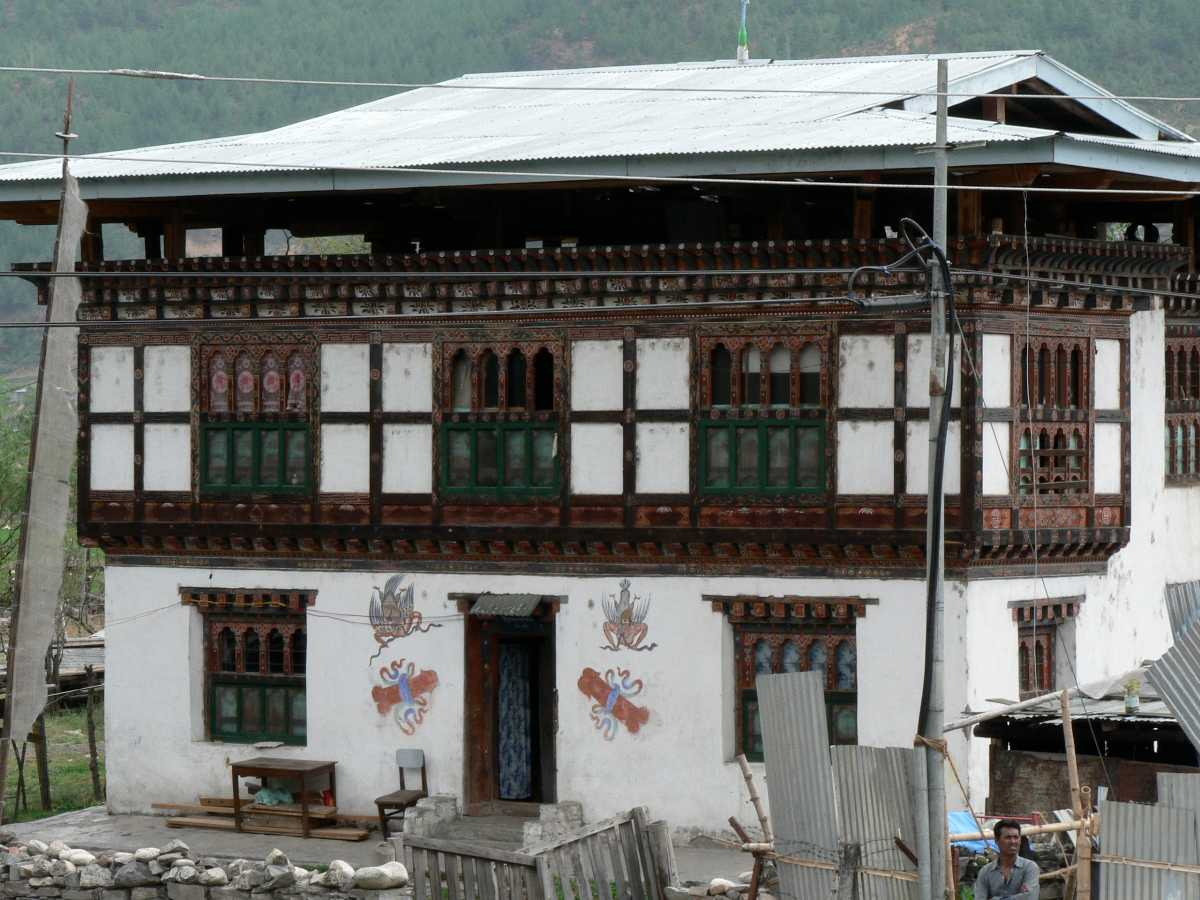 Bhutanese House, Architecture in Bhutan
