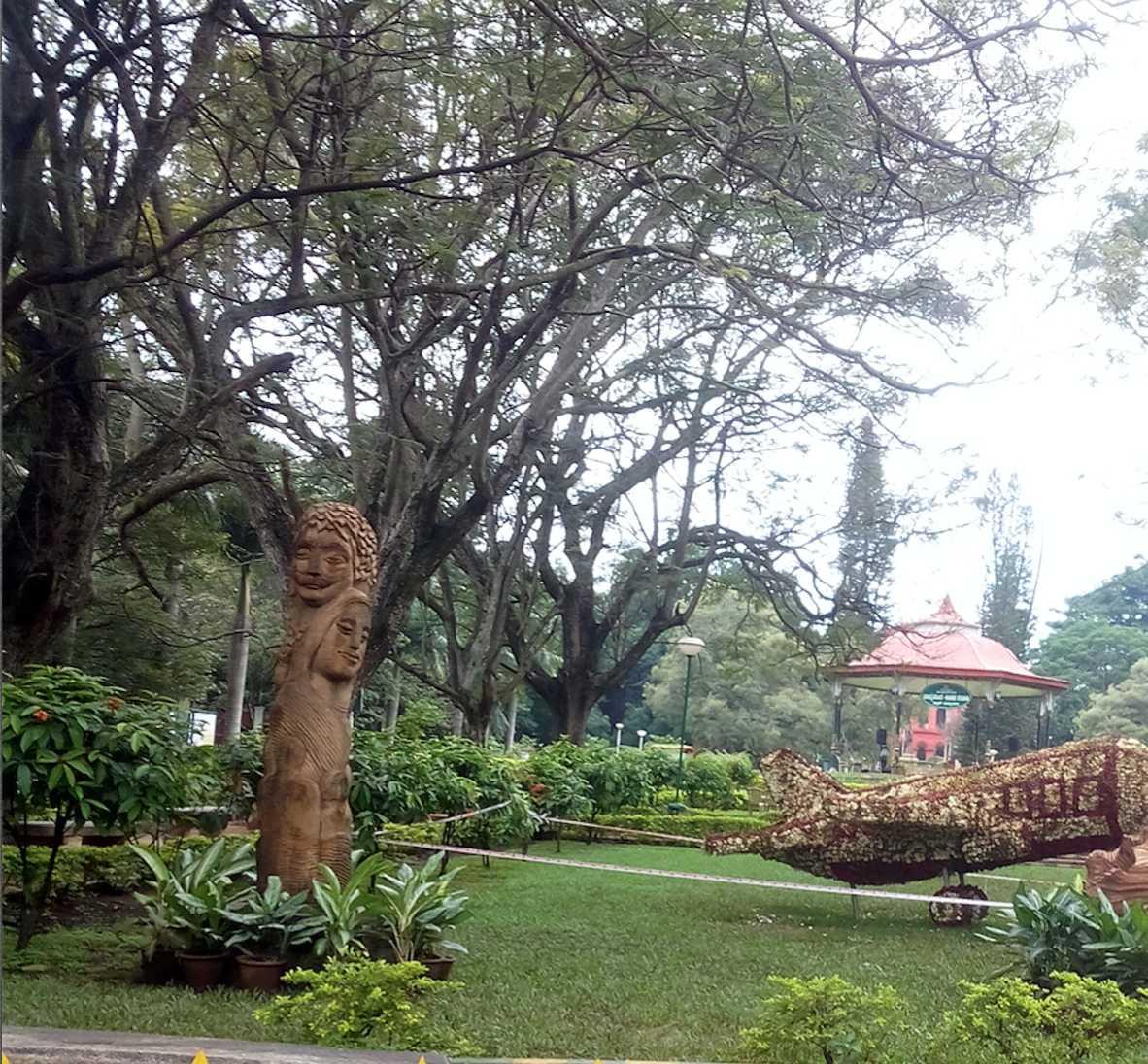 Cubbon Park in Bangalore