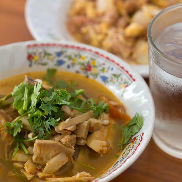Kaeng Khanun Jackfruit, Food in North Thailand, Northern Thailand Cuisine
