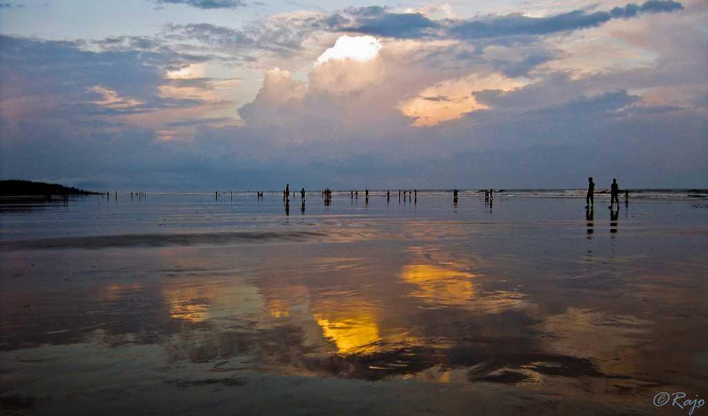 Evening in Digha Beach