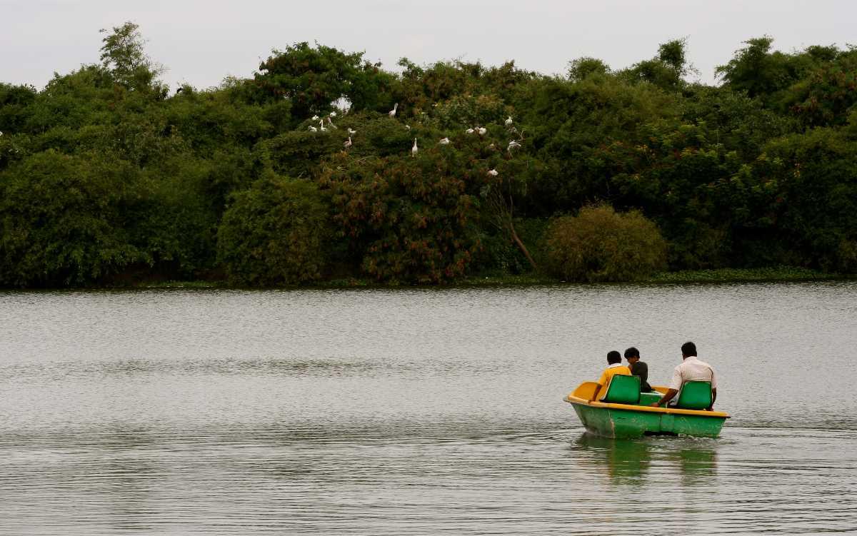 Boating at Madiwala Lake