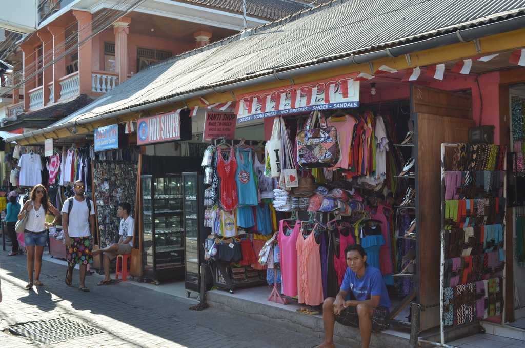 Legian Street is a Shopper's Paradise