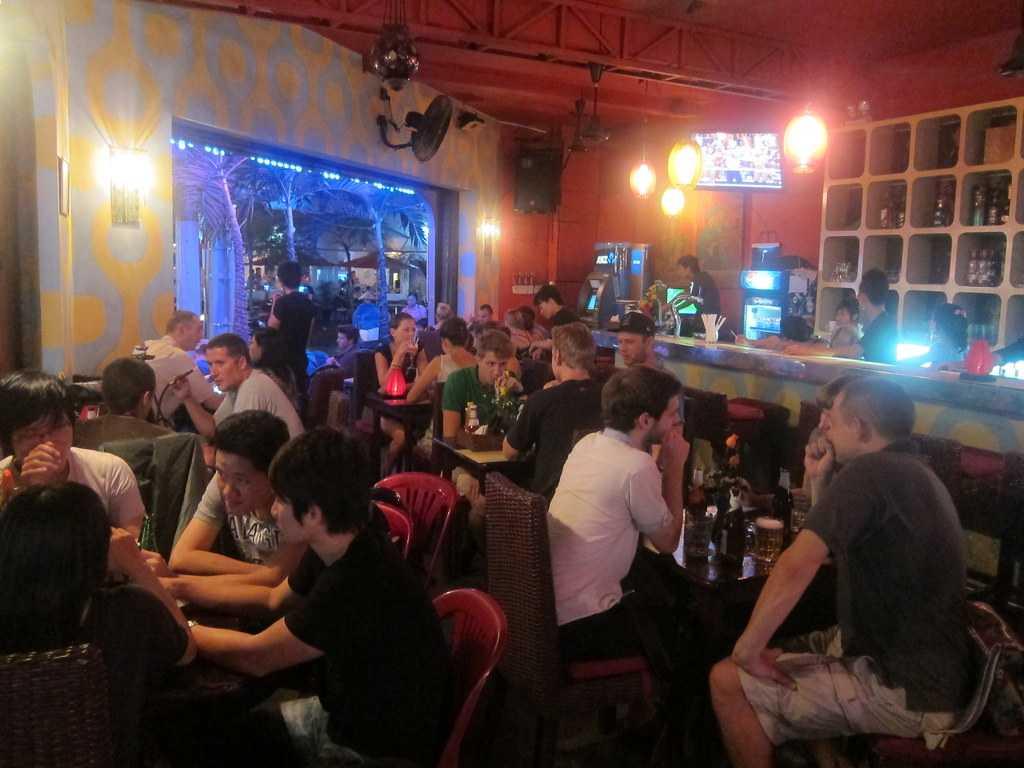 bar in Vietnam