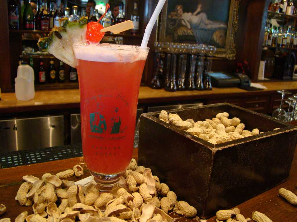 Singapore Sling, Food and drinks in Singapore