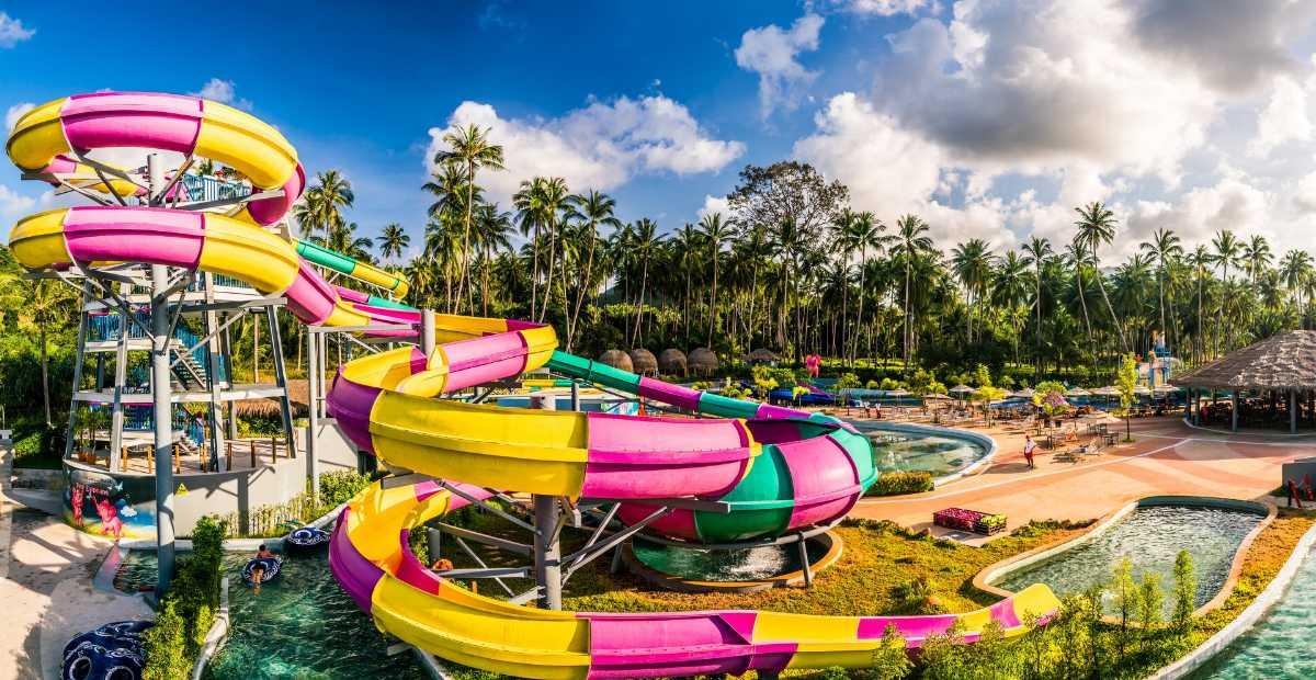 Pink Elephant Water Park, Koh Samui