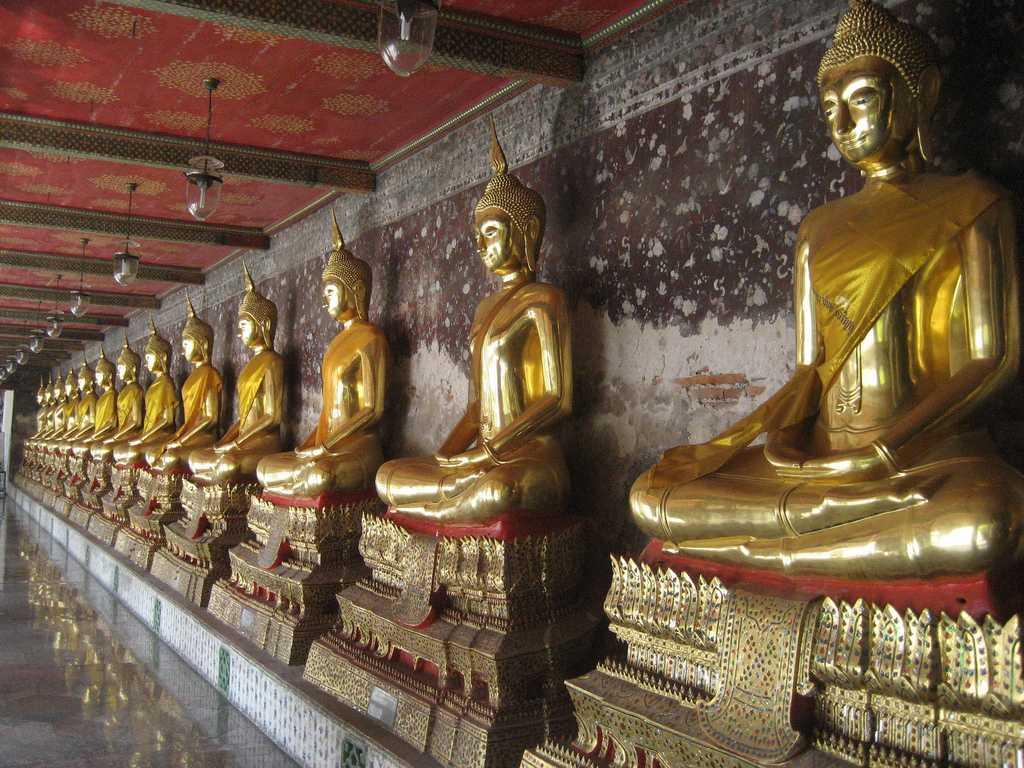 Buddha Statues at Wat Suthat