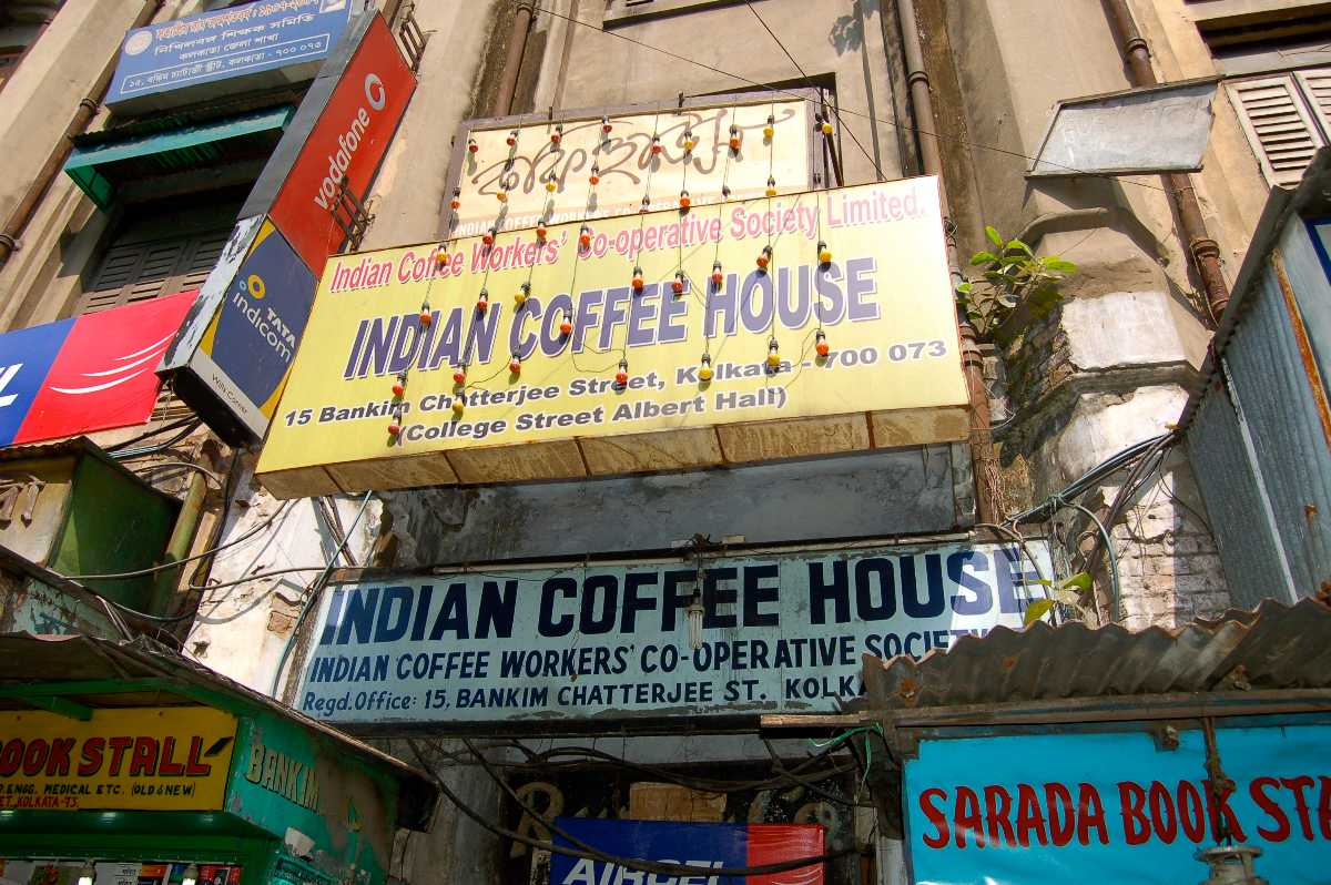 Indian Coffee House, Cafes in Kolkata