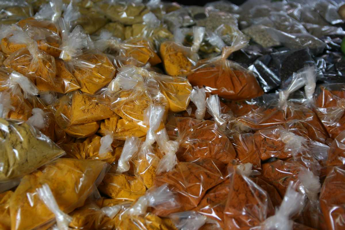 Colourful Spices in Mahe, Vegetarian food in Seychelles