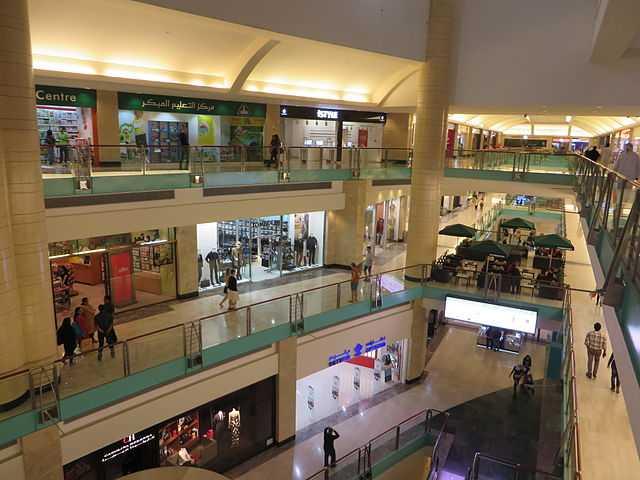 Abu Dhabi Mall Interior