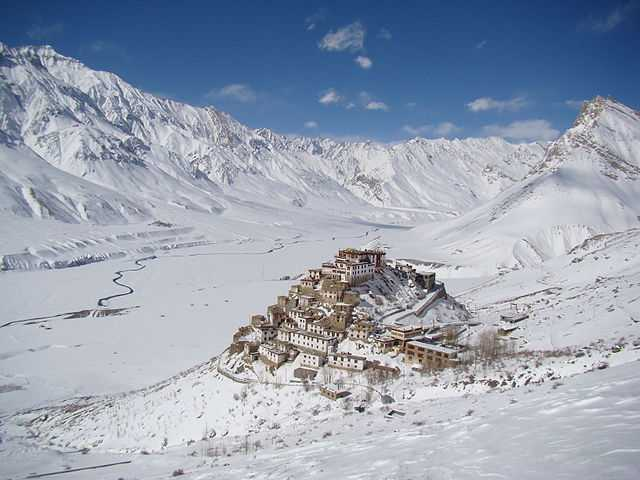 Key Monastery in Winters