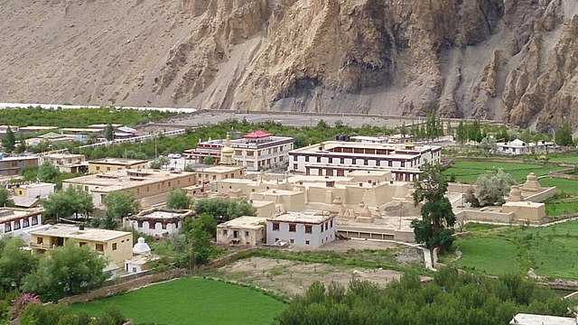 Tabo Monastery from top