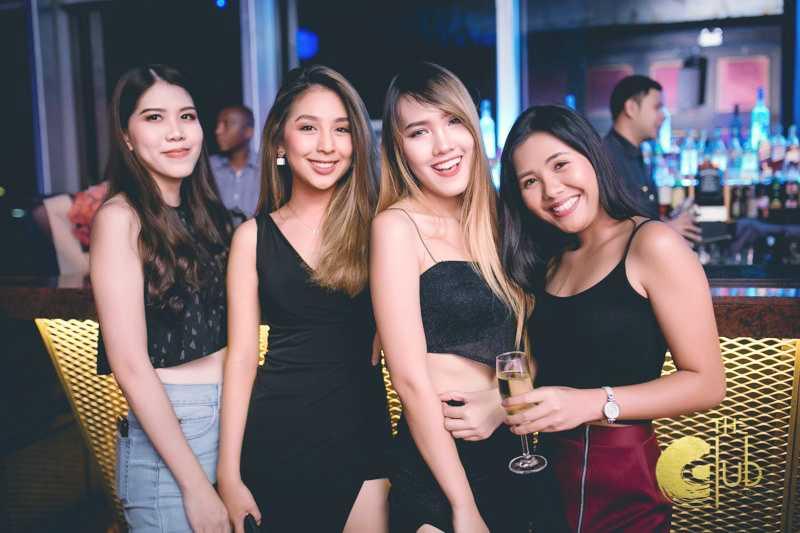 Partiers at The Club at Koi, Bangkok