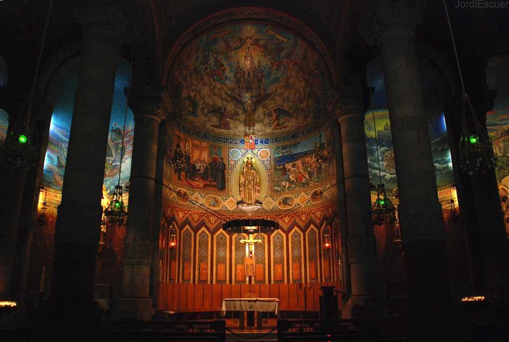 Interior View of Sagrat Cor