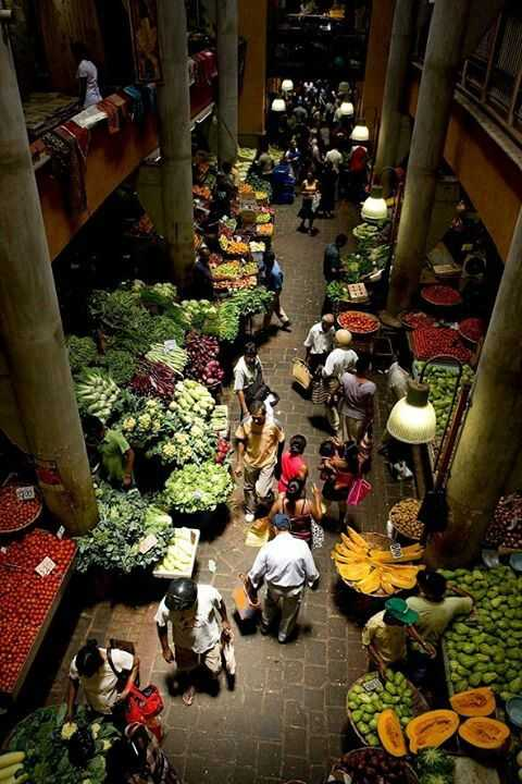 Central Market Mauritius