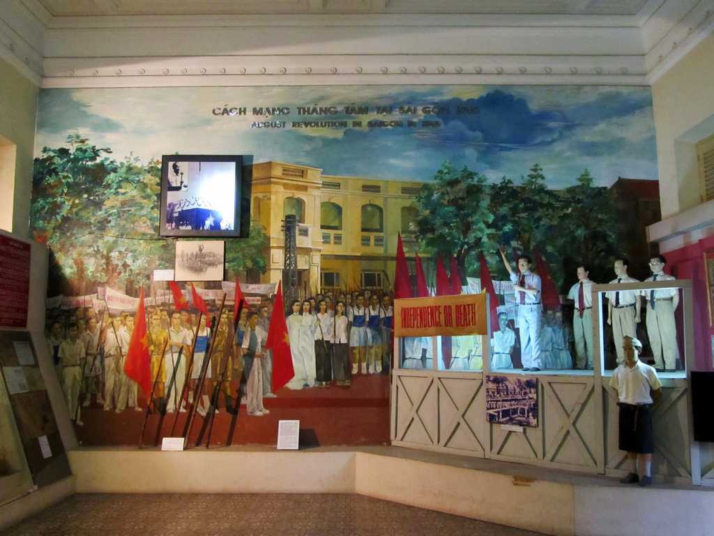 August Revolution of Saigon 1945, Ho Chi Minh City Museum, Gia Long Palace