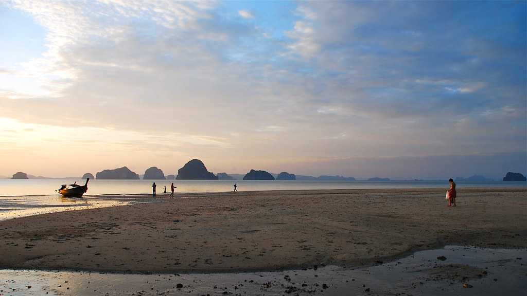 Sunset at Tub Kaek Beach, Krabi