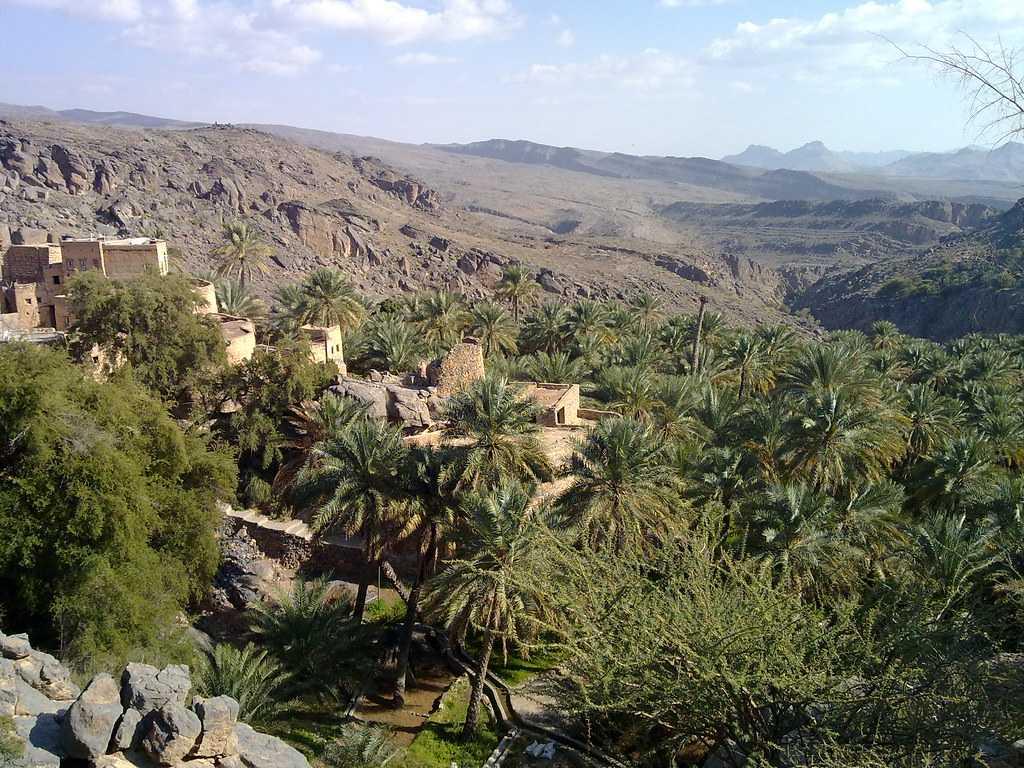 Misfat al Abriyeen, Landscapes of Oman