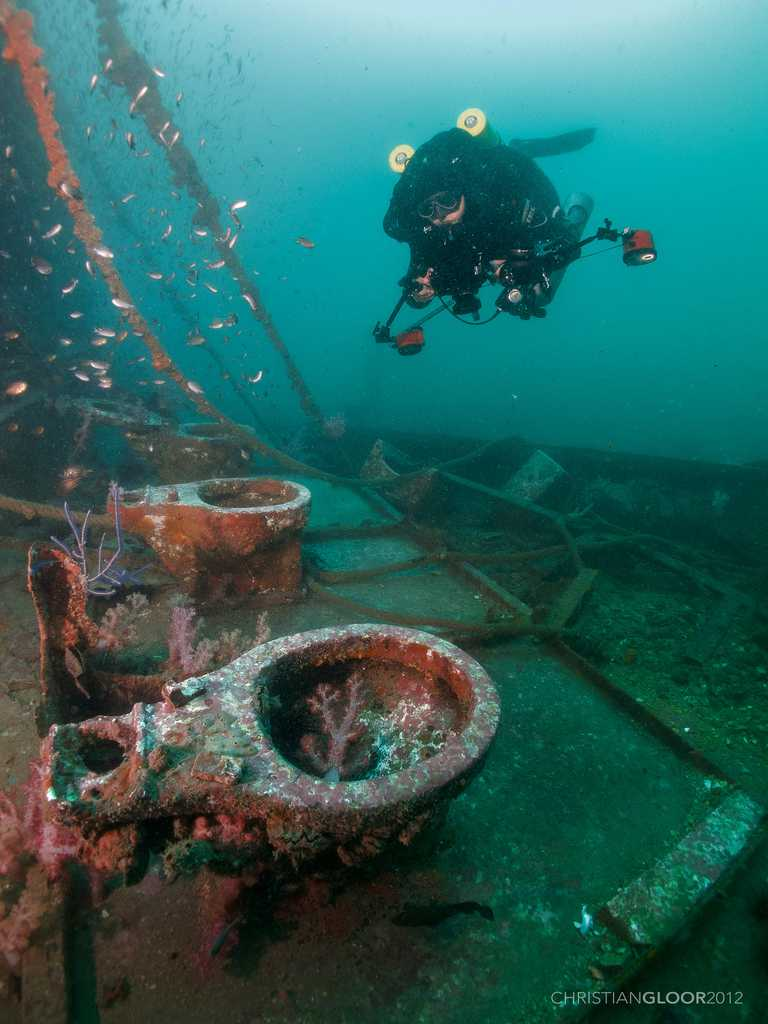 King Cruiser Wreck, Scuba Diving in Phuket