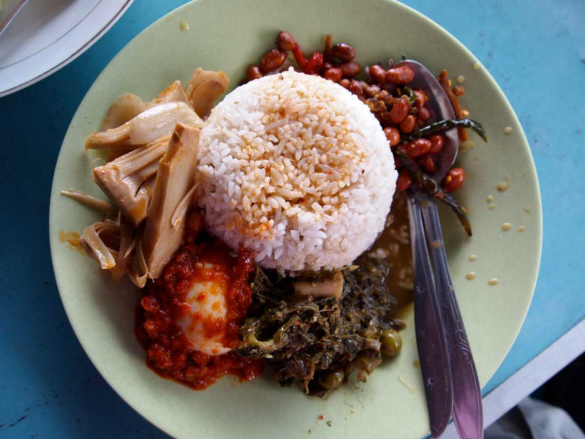 Food in Bukit Lawang