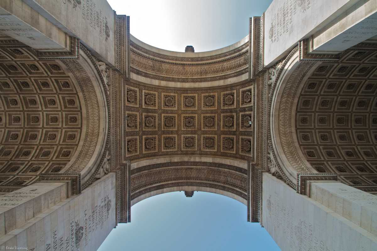 Architecture of Arc de Triomphe