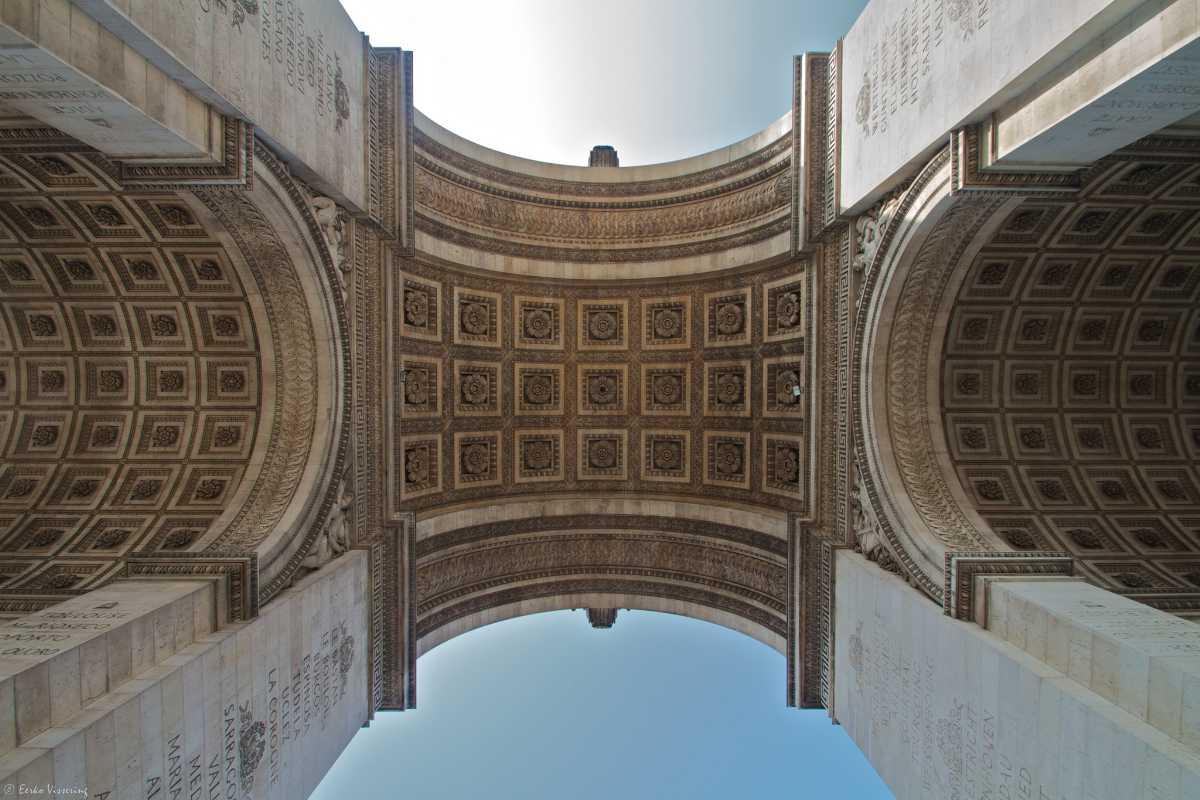 Architecture of Arc de Triomphe