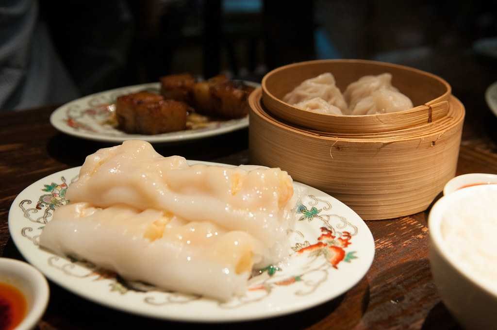Rice Noodle Rolls, Food of Hong Kong