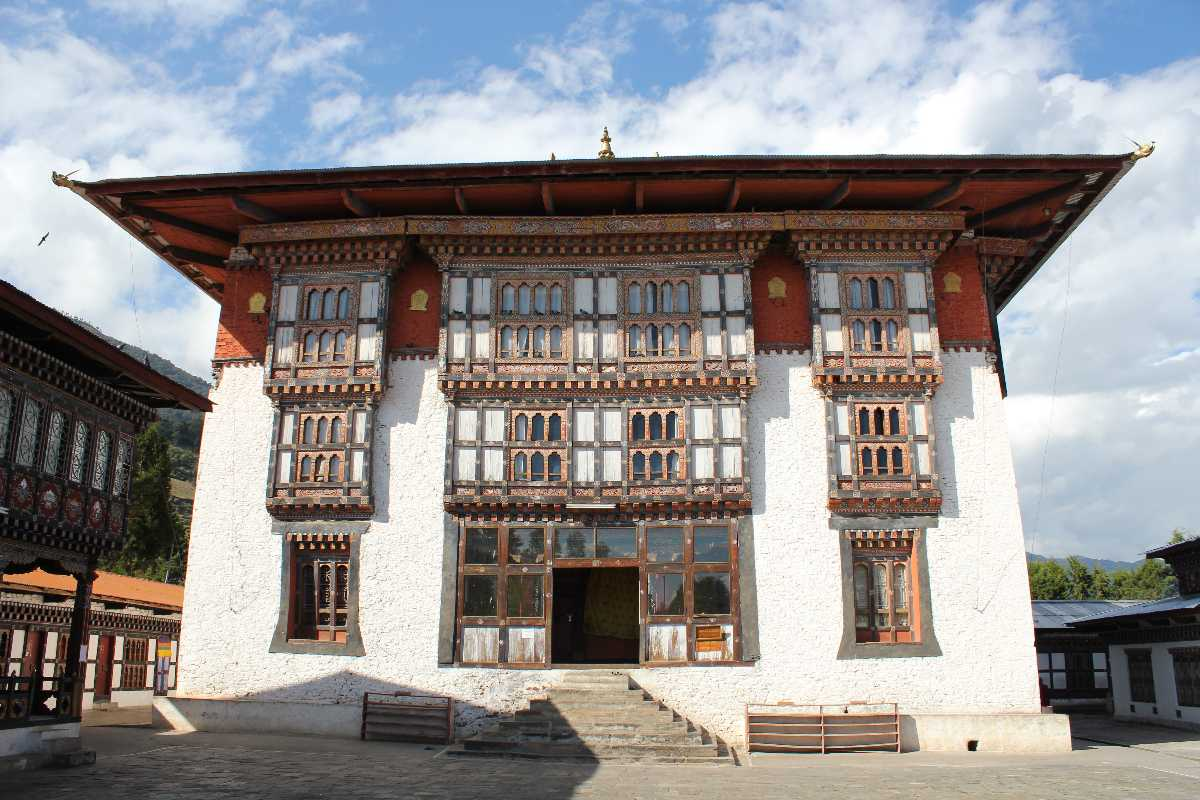 Drametse Lhakhang, Architecture in Bhutan