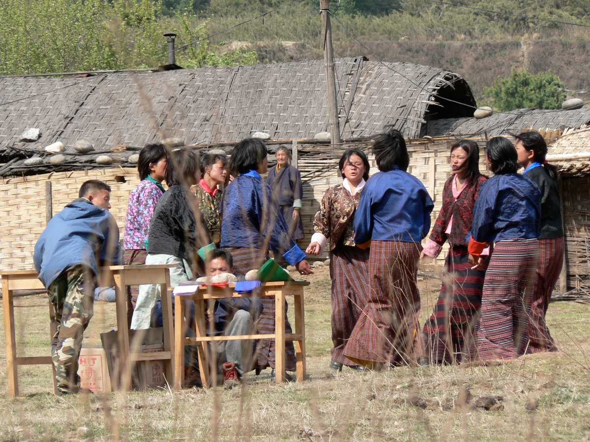 Cheerleading by Women, Archery in Bhutan