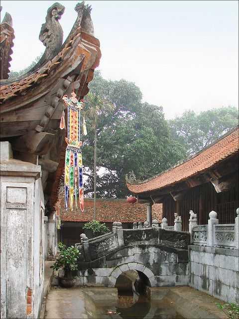 Pagoda But Thap Vietnam
