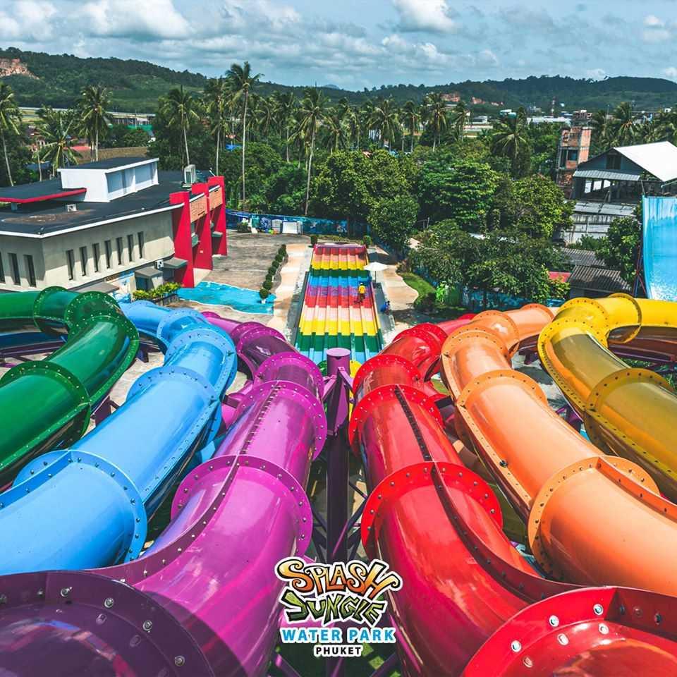 Whizzard Ride at Splash Jungle Water Park, Phuket