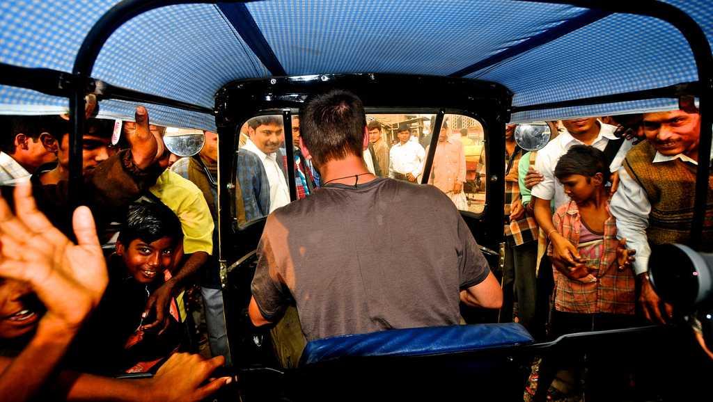 Rickshaw Run India - Riding through the streets of India
