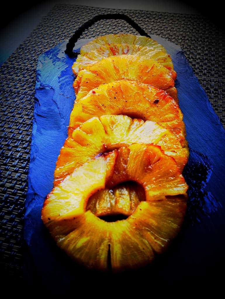 Anana Confit, Mauritius street food