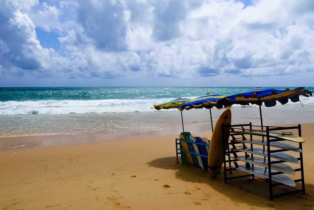 Surf Boards at Surin Beach, Phuket