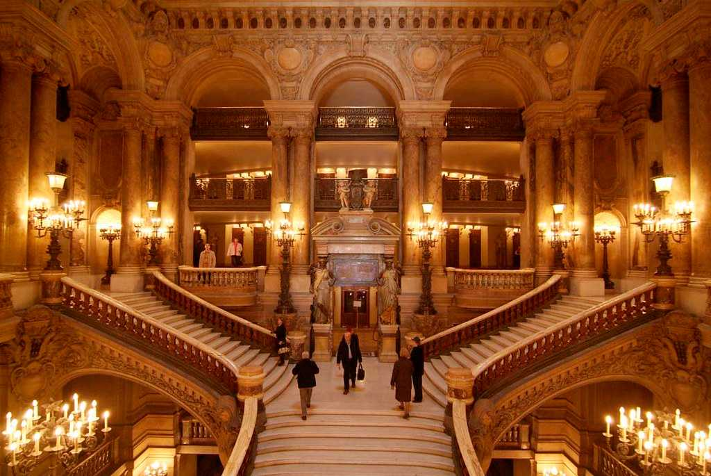 The Staircase at the Palais Garnier