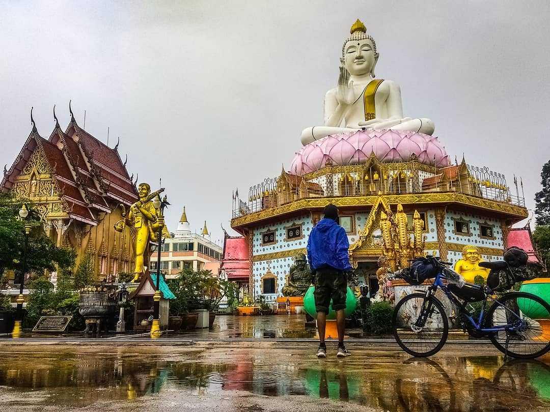 Himanshu Goel travelled 6000km on his bike