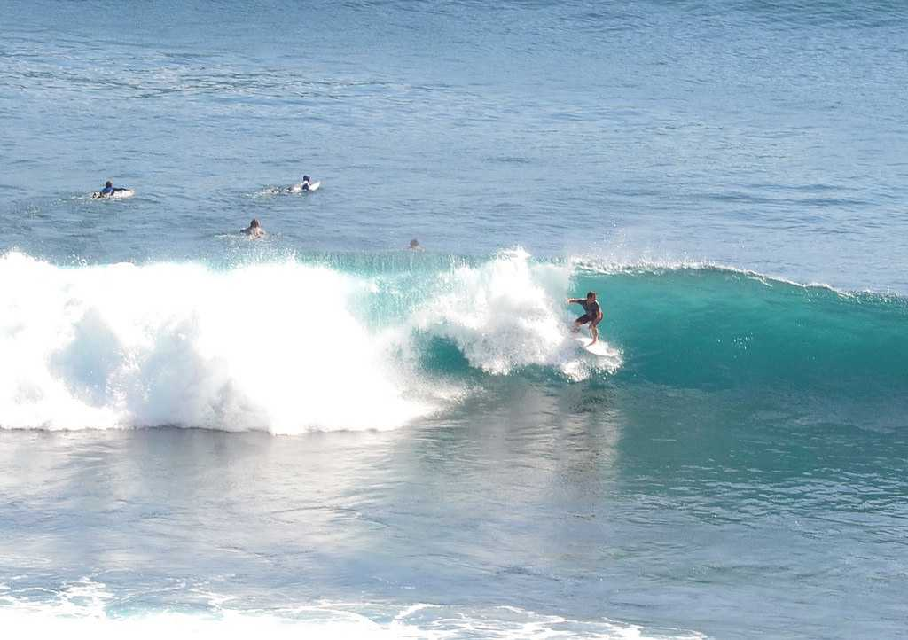 Surfing in Bali, Uluwatu