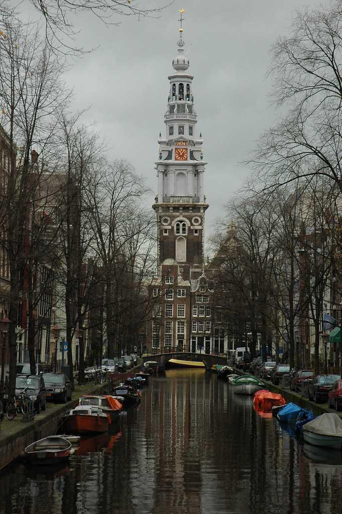 tower, canal, westerkerk