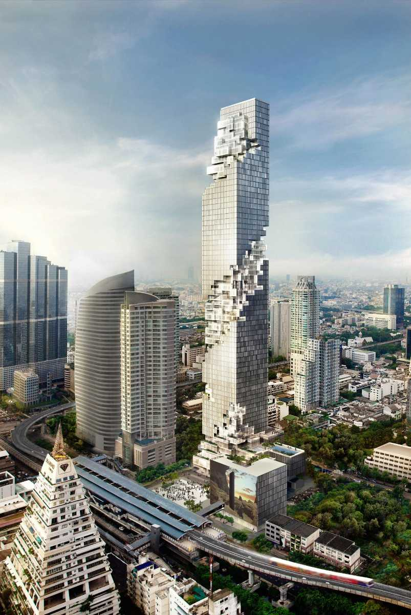 MahaNakon, Contemporary Architecture in Bangkok