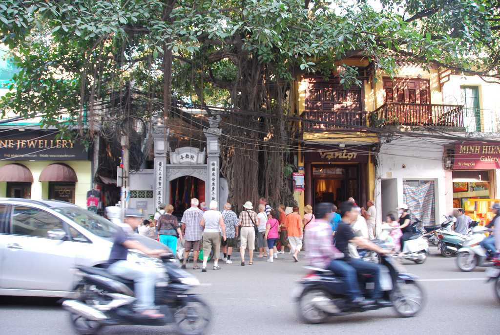 Hang Gai Street Hanoi Vietnam