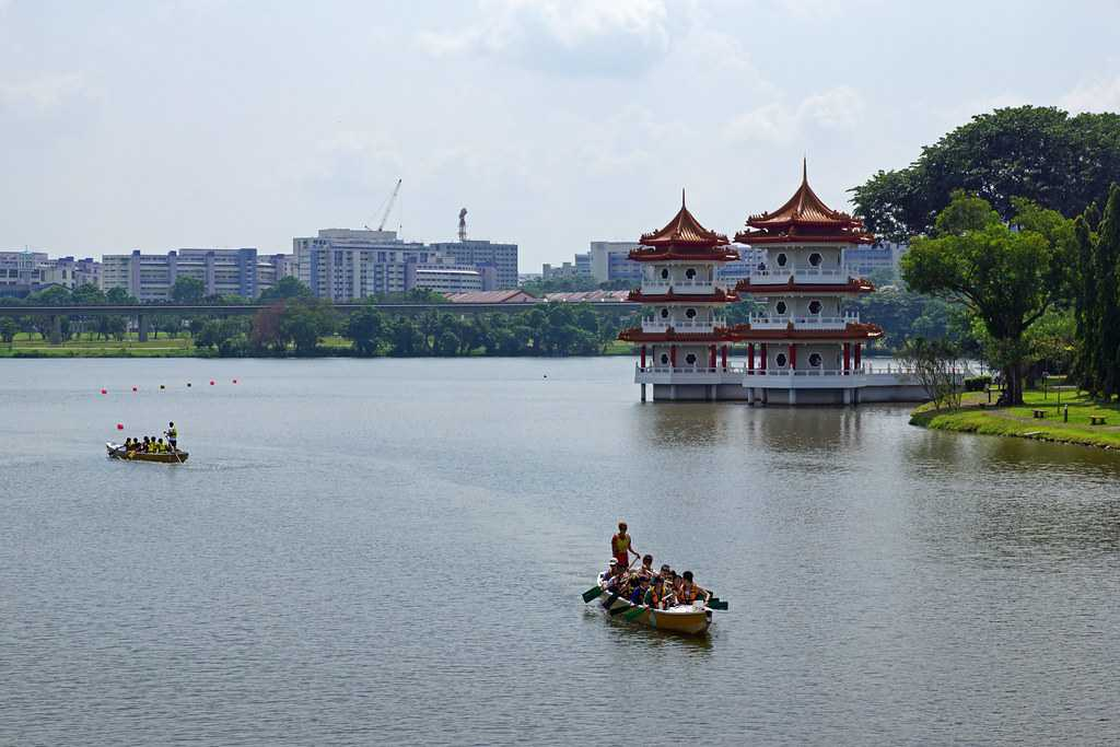 Jurong Lake, Fishing at Singapore